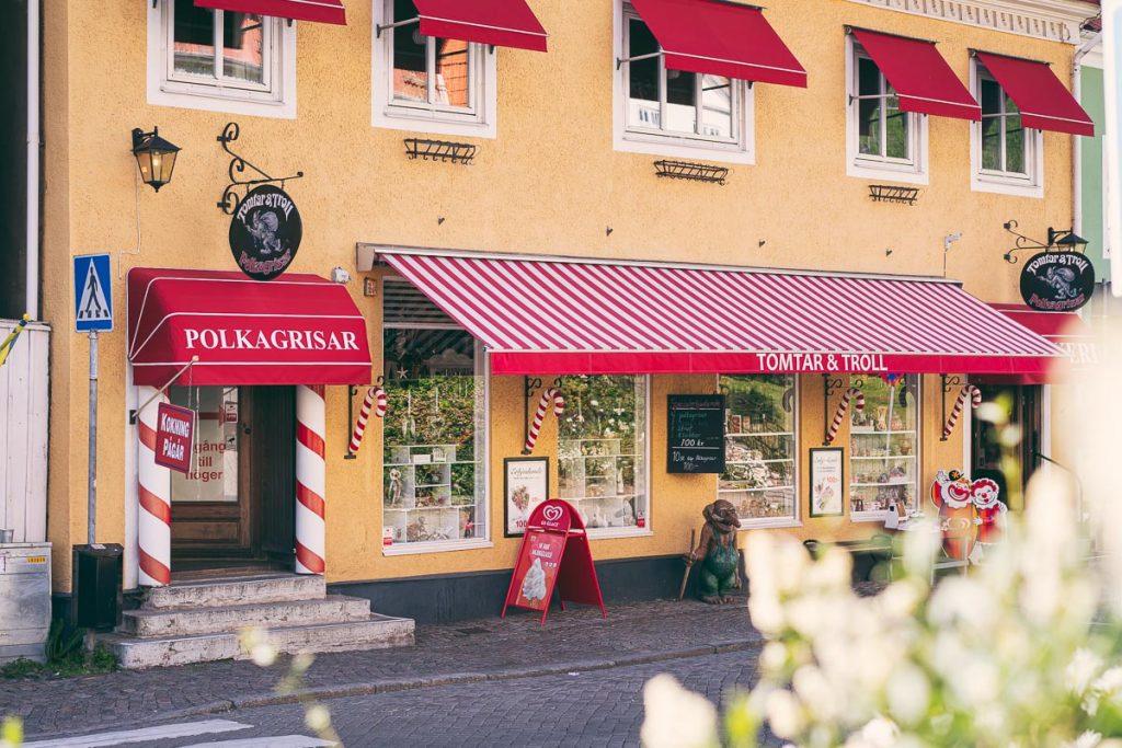 Godis som polkagriser er noe Sverige er godt kjent for