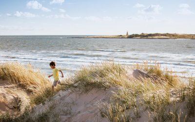 Utforsk vakre sandstrender på Sveriges vestkyst