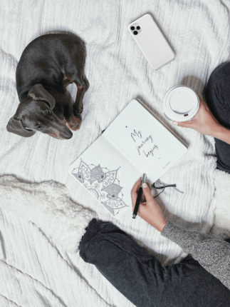 Opportyounity journal journaling dog