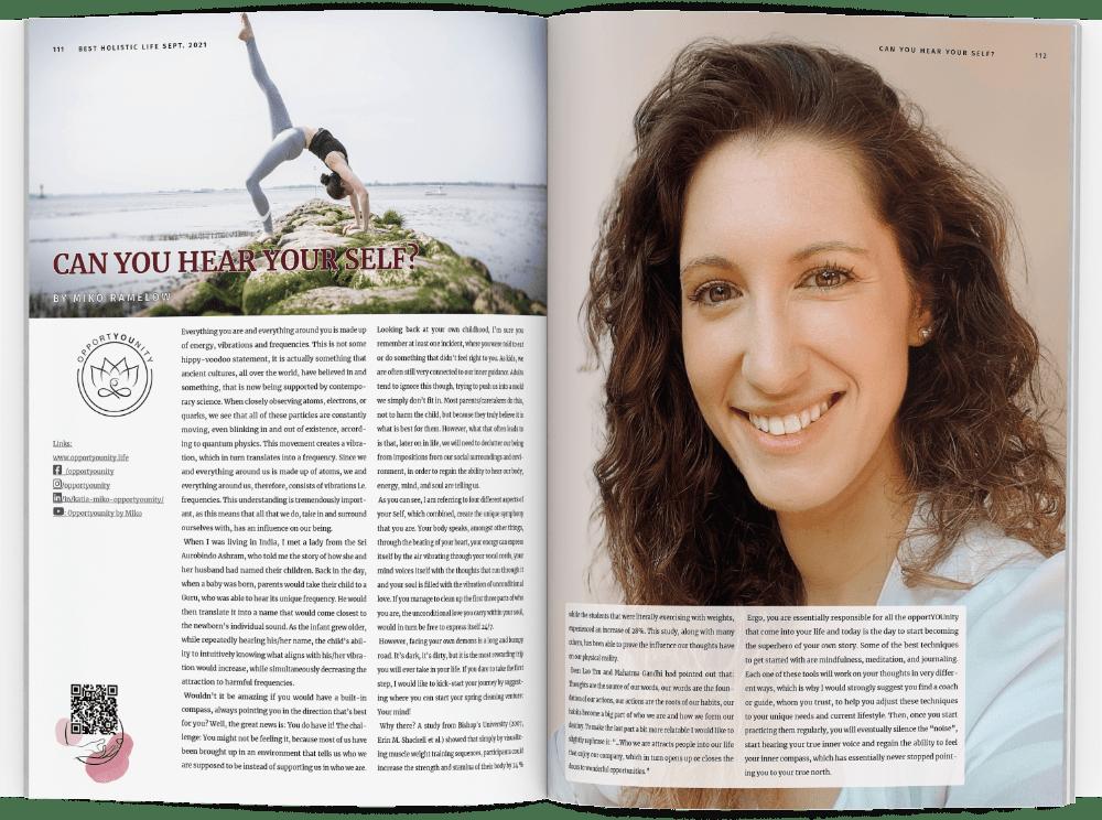 Best Holistic Health Magazine Miko Ramelow Article
