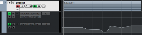Sylenth1 Arp Time Automation