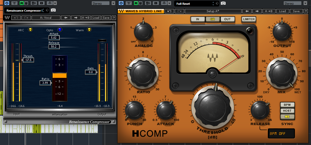 2 Compressors in series