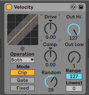 Velocity Randomisation in Ableton