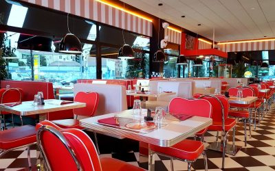 All American Diner Ordina & Gusta