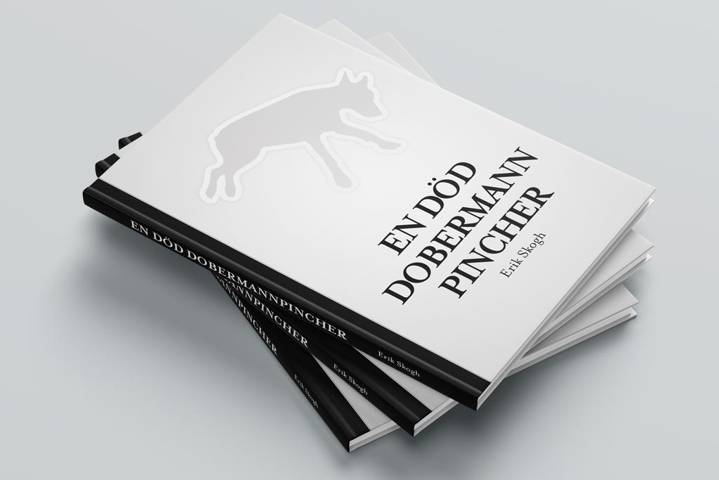 omslag på boken En död dobermannpincher