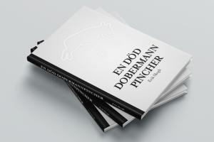 en död dobermannpincher bok