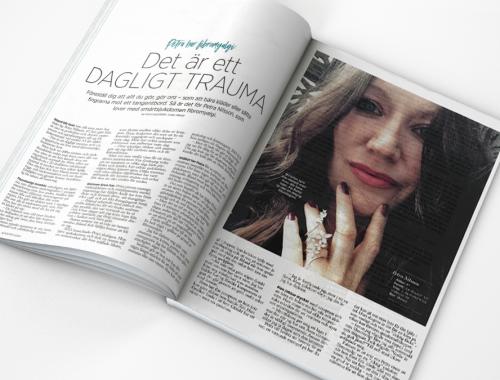 Artikeln i tidningen MåBra