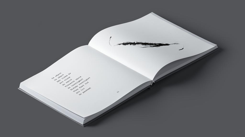 Diktsamling av Henrik Nord - När tiden vilar i skuggan av ett träd - uppslag