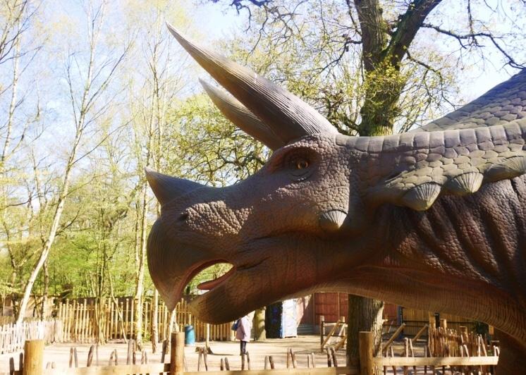 Amimatronic Dinosaur at Paradise Wildlife Park