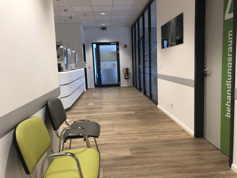 Eingangsbereich Khorsheed orthopädie