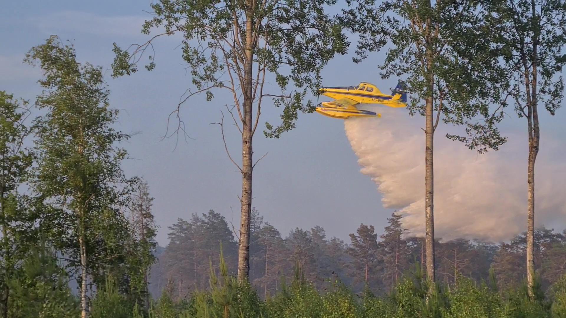 Det finns inga misstankar om att Finsjöbranden skulle vara anlagd