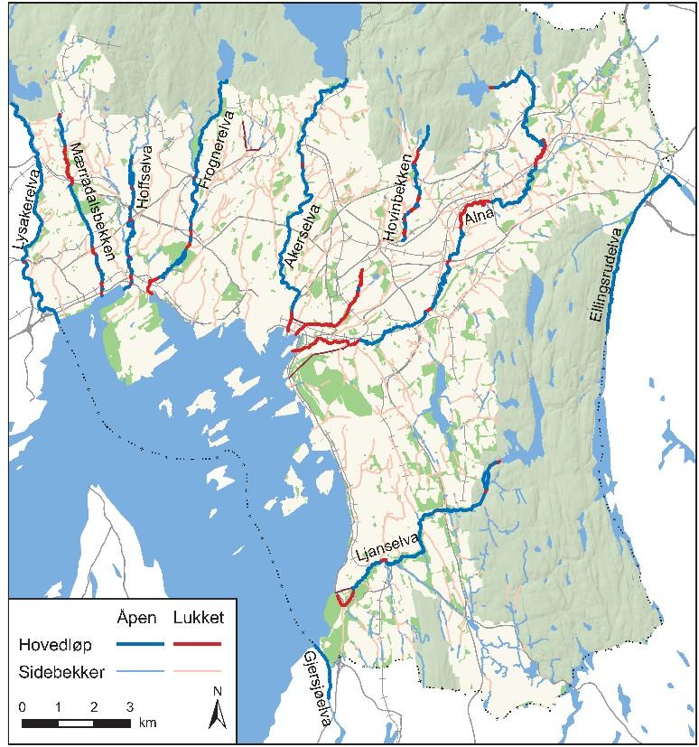 Kart Oslo Elveforum