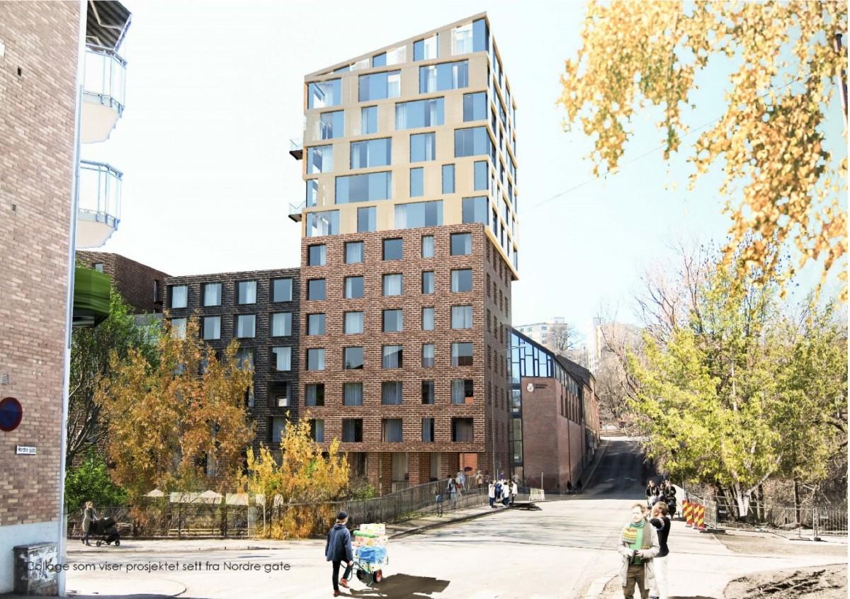 Foto av planforslag Brenneriveien 11
