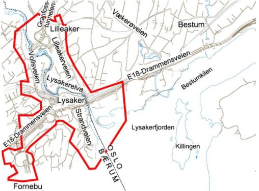 Lysakerbyen