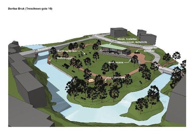 Slik kan Treschows gate 16 bli i 2020