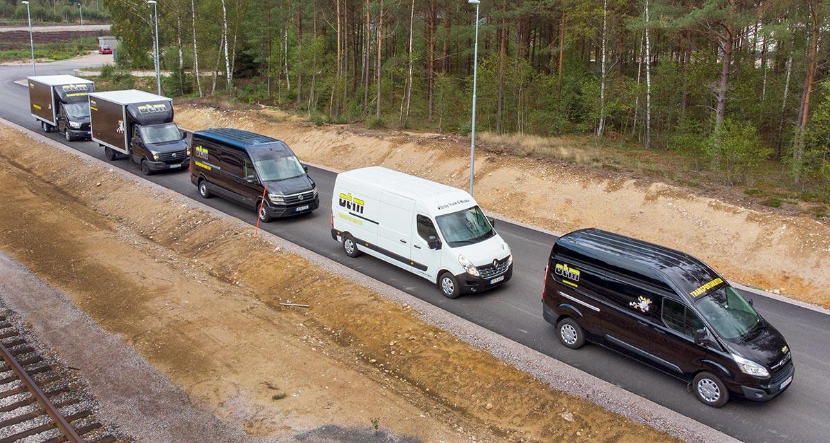 expresstransporter i hela europa