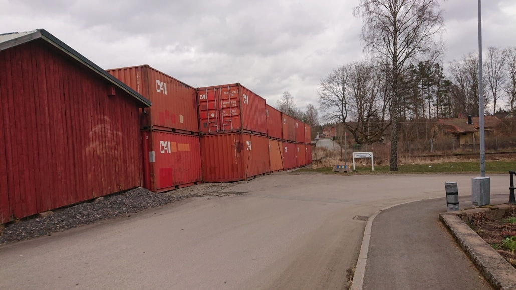Containervall