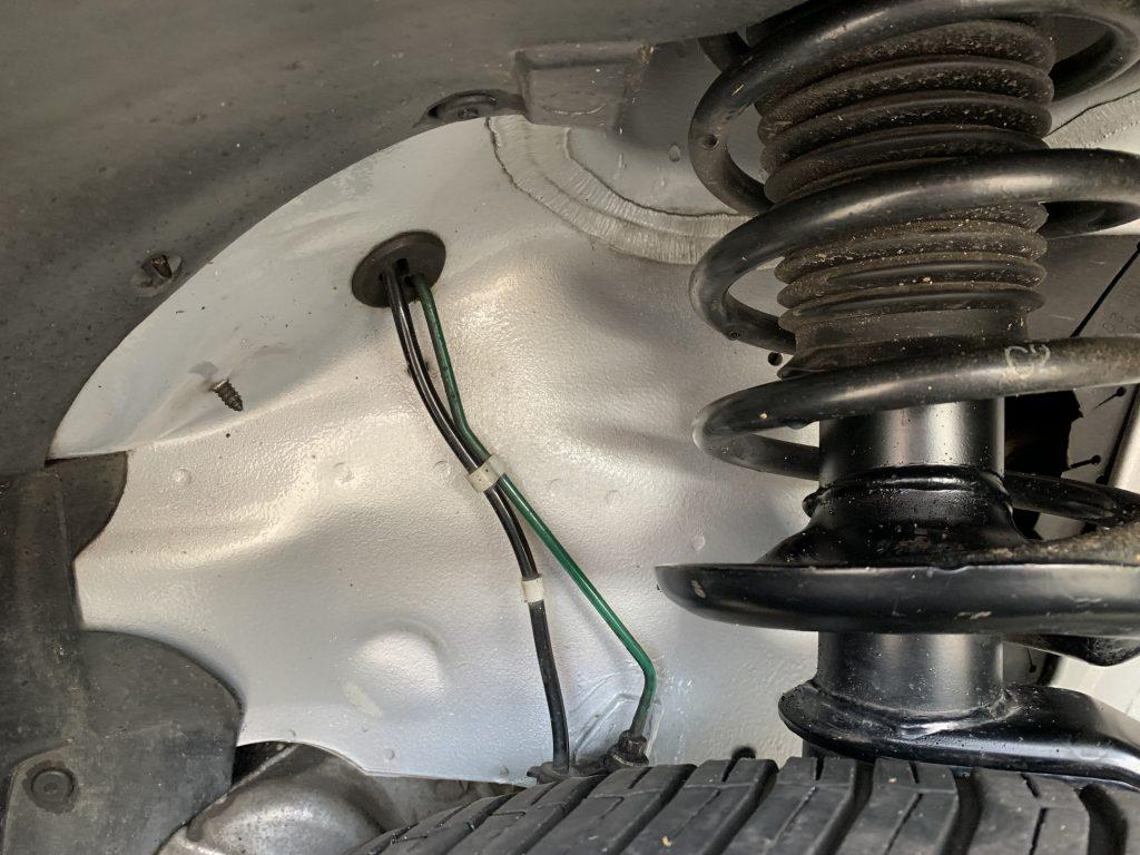 Saab 9-3 Aero Turbo inner wheel space