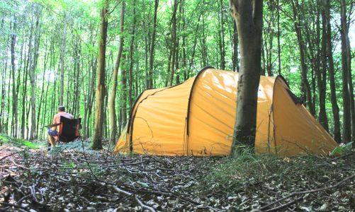 billig camping fri teltning midtjylland