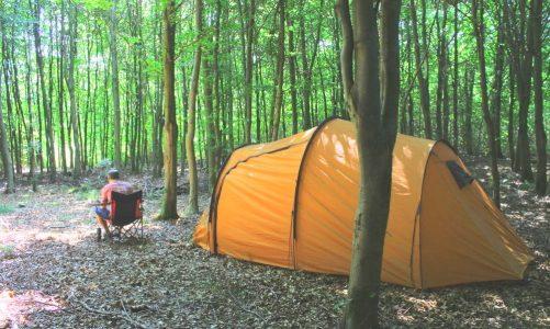 Billig camping på Fyn