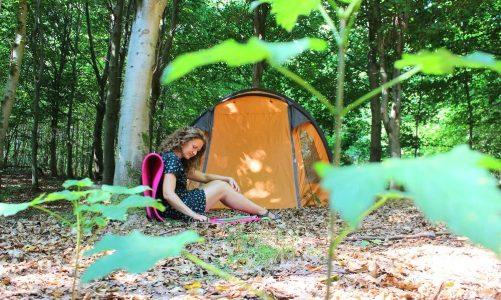 SE KORTET: Her kan du komme på gratis telttur i Danmark med fri teltning