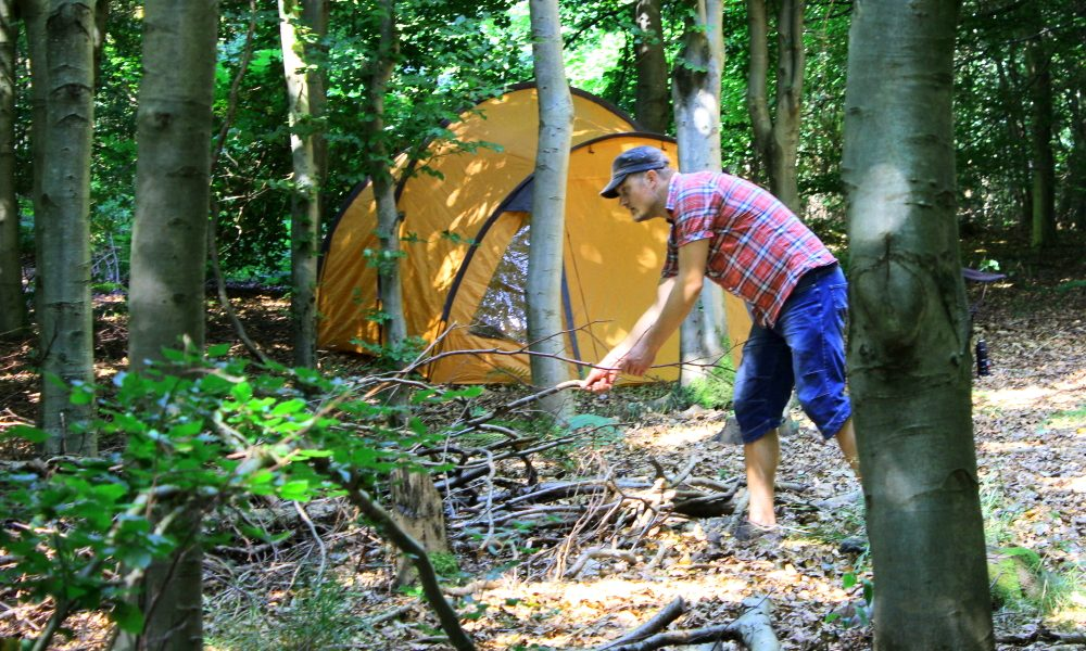 Overnatning i naturen gratis camping i det fri