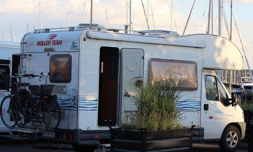 Parkering overnatning for autocampere campervan 1