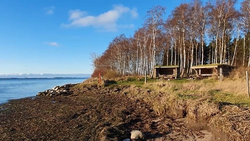 shelter ved vandet Avnø