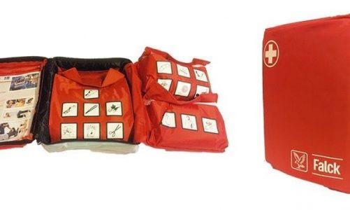 Autocamper indretning Autocamper udstyr pynt til bilen campingbord Førstehjælp