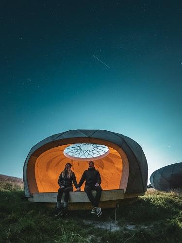 bornevenlig shelter til born Observatoriet i Brorfelde shelter med stjernekig
