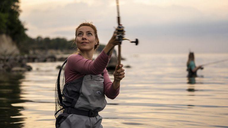 Flere kvinder nyder at fiske: Nyt virtuelt kort viser de