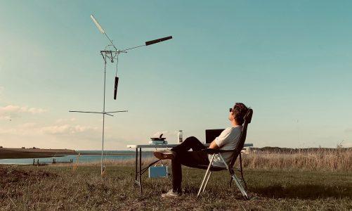 Ny dansk vindmølle til outdoor-folk: Ren energi til camper-turen