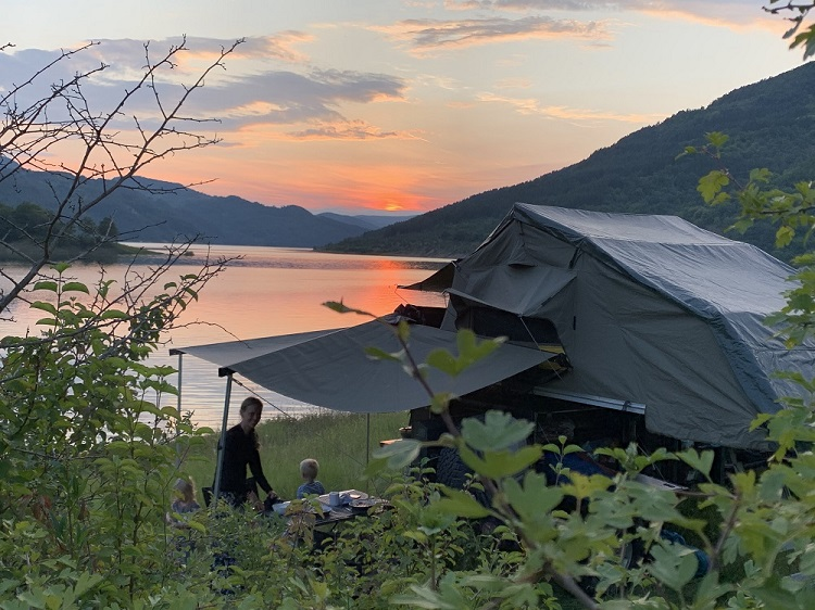 camping outdoor museum Egeskov