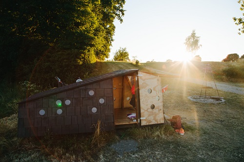 shelter ved vandet fyn shelter tæt på havet ©Michael Fiukowski og Sarah Moritz