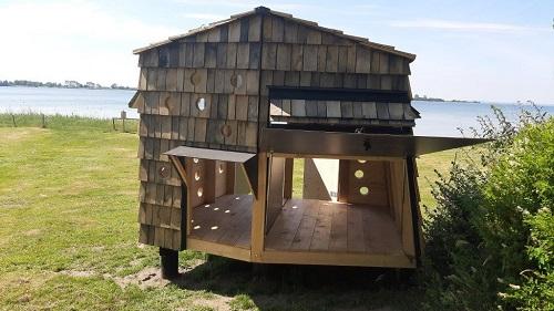 shelter ved vandet fyn shelter tæt på havet Ørnehøj