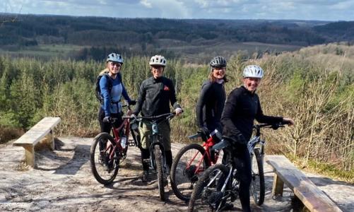 Intro til mountainbike for 2: Guidet tur i Søhøjlandet – 999 kroner