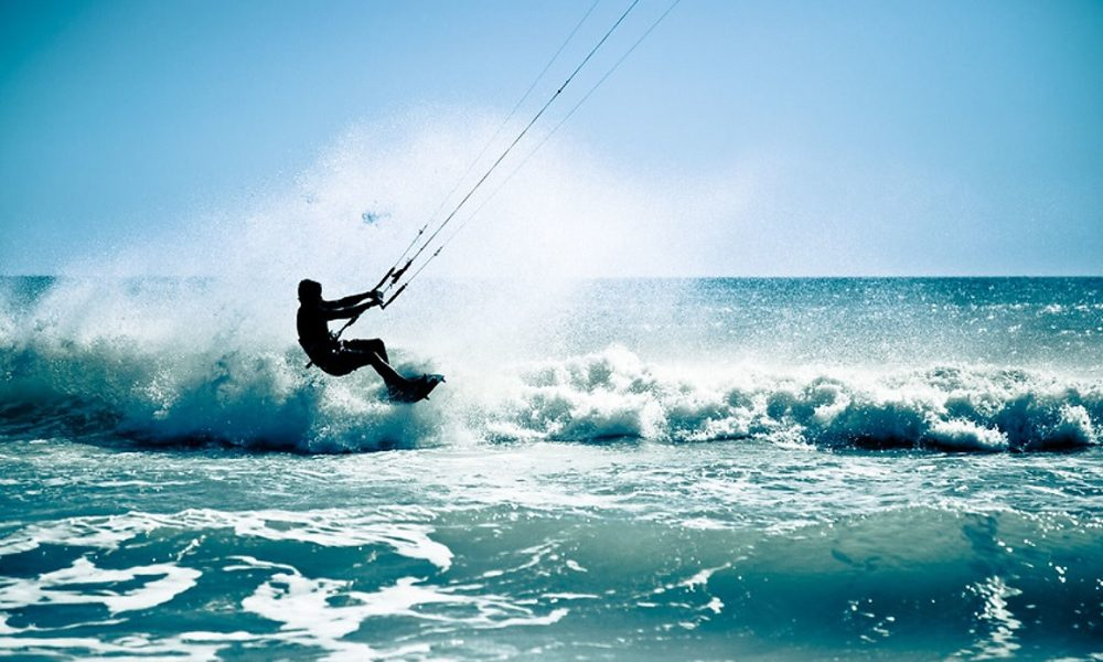 Introduktion til kitesurfing