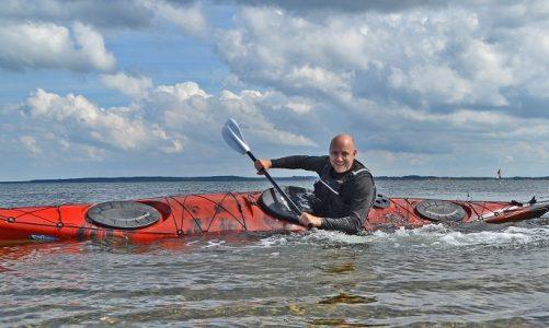 havet SUP surfing kajak sikkerhed regler