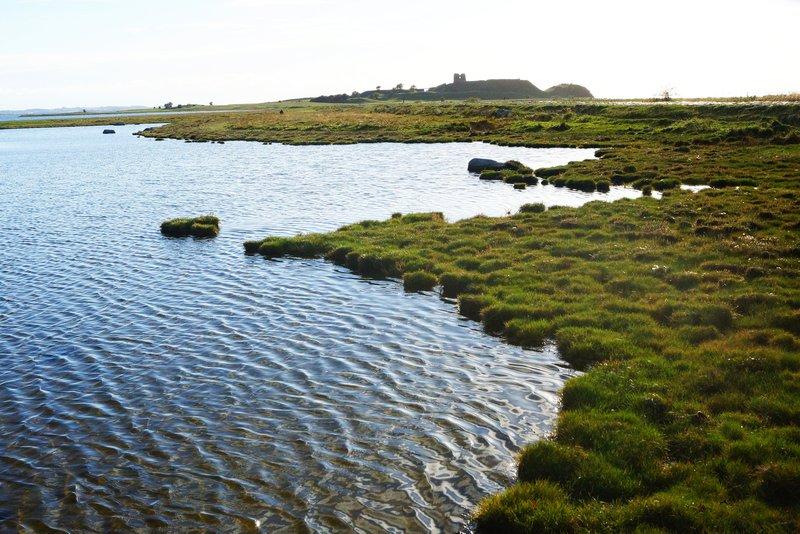 vandre vandreruter hiking i Danmark Mols Bjerge-stien Kalø