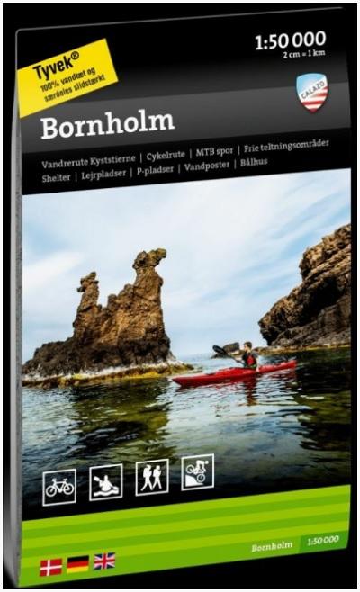 vandre vandreruter hiking i Danmark bornholms kyststi