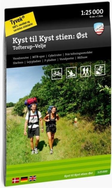 vandre vandreruter hiking i danmark kyst til kyst stien øst