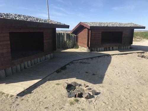 Shelter ved vandet Vestjylland shelter ved havet Handbjerg Marina