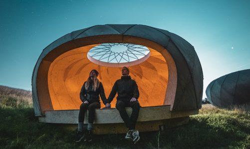 shelter med stjernekig Observatoriet i Brorfelde