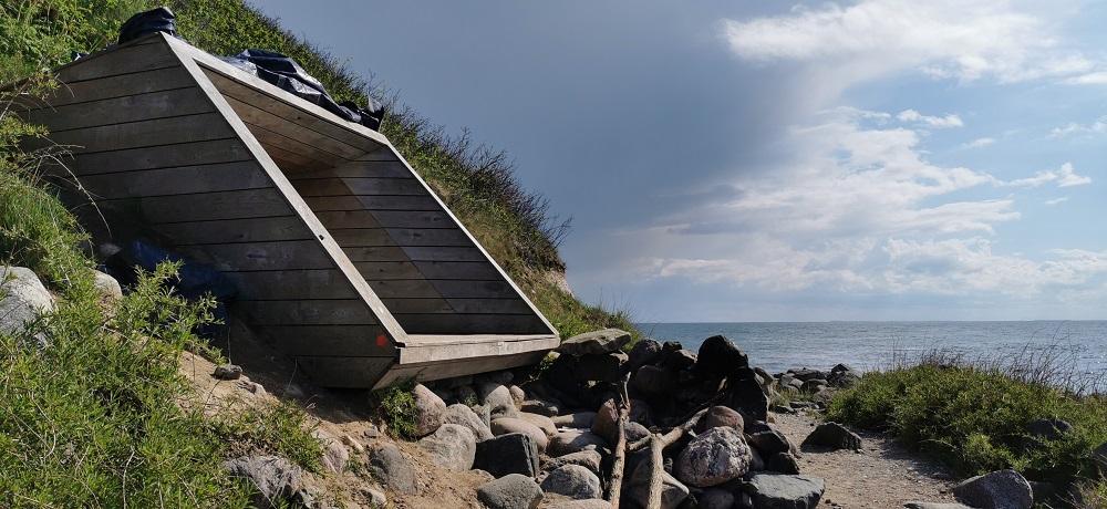 Shelter ved vandet havet Sjælland (3)