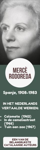 Basisinformatie over Mercè Rodoreda, met foto