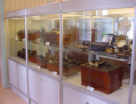 Samlingen af Marconi apparater