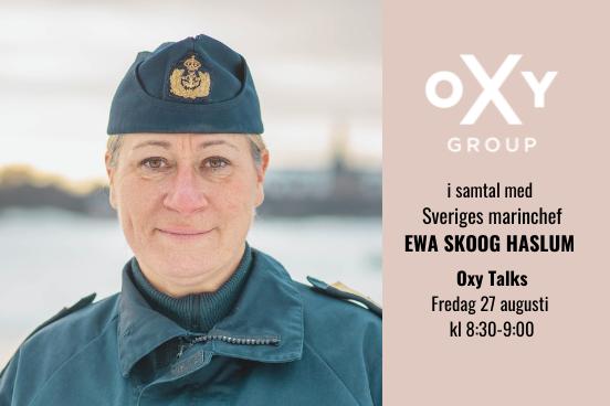 Oxy Talks Ewa Skoog Haslum