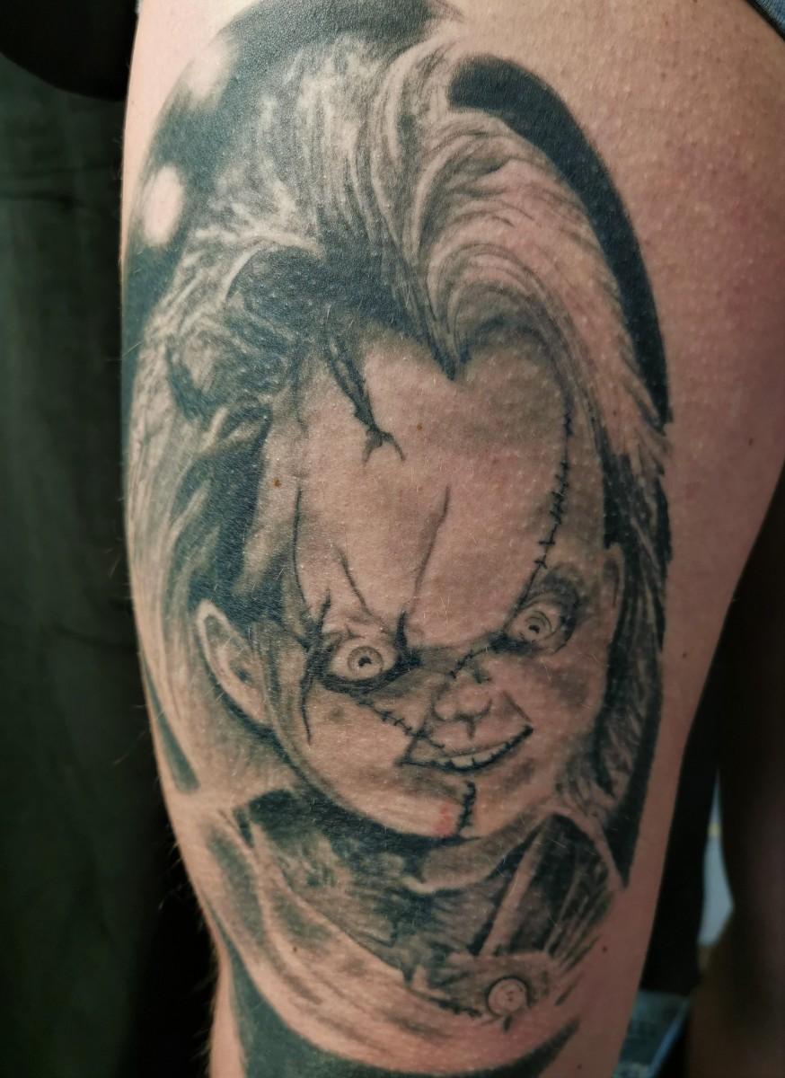Verheiltes Chucky / Healed Chucky