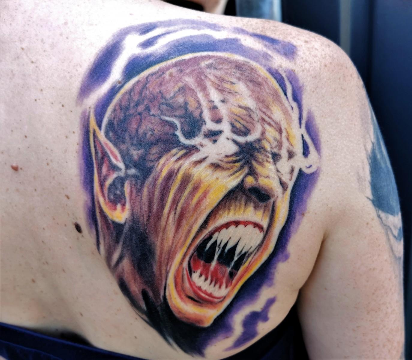 Devin Townsend als Dämon - Verheilt
