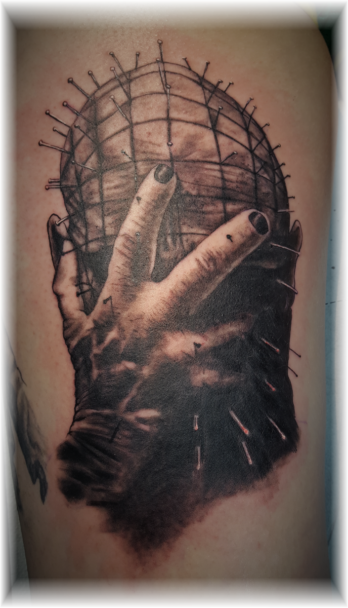 Tattoo Pinhead von Hellraiser